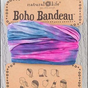 Natural Life Boho Bandeau Wear 8 Ways Tie-Dye